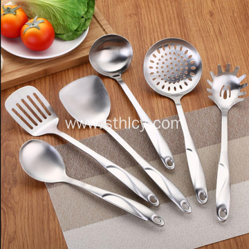Stainless Steel Soup Ladle And Turner